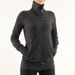 Lululemon In Stride Jacket Black Pique